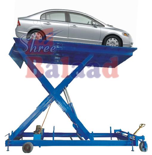 Hydraulic Car Lift : Hydraulic car lift table hand truck