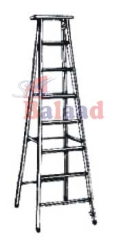 Alu. Flat Step Ladder
