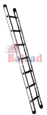 Alu. Pipe Step Wall Mounted Ladder