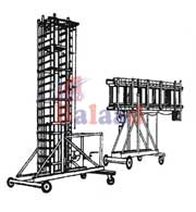Alu. Square Type Titable Tower Ladder