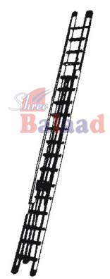 Alu. Wall Mounted Extension Ladder