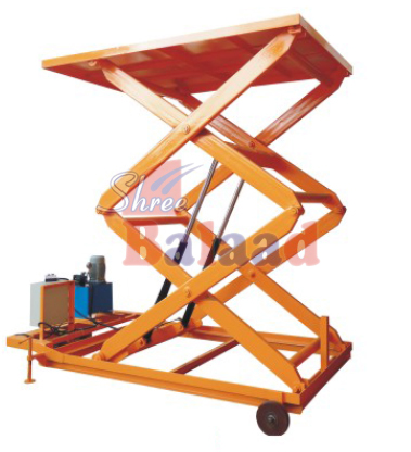 Electric Lift Table With Wheels