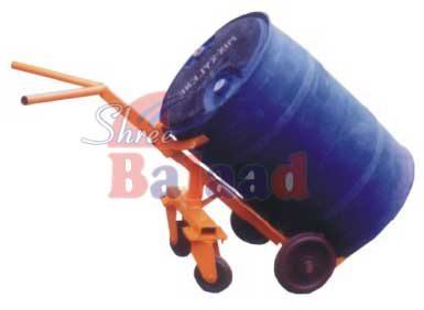 4 Wheel Drum Trolley