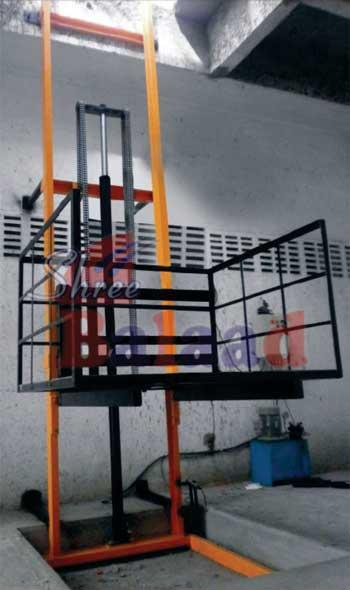 Hydraulic Goods Lift Hydraulic Floor Crane Hydraulic